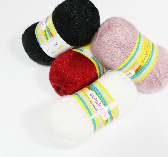 Gomitolo Mohair Lux Adrianwool
