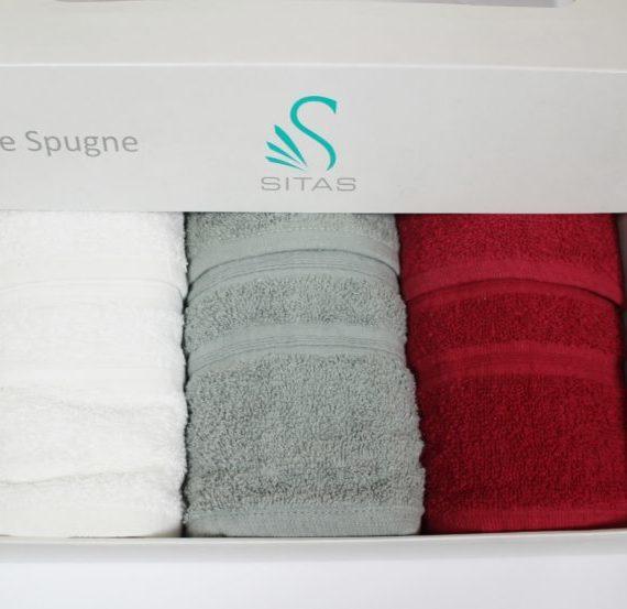 Set Asciugamani 3+3 Sitas