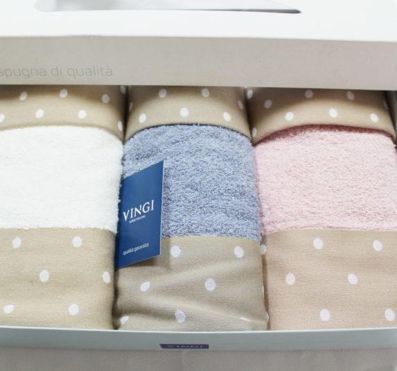 Set Asciugamani 3+3 Vingi