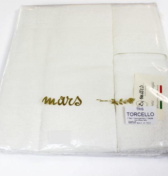 Set Telo+Asciugamano+Ospite Mars