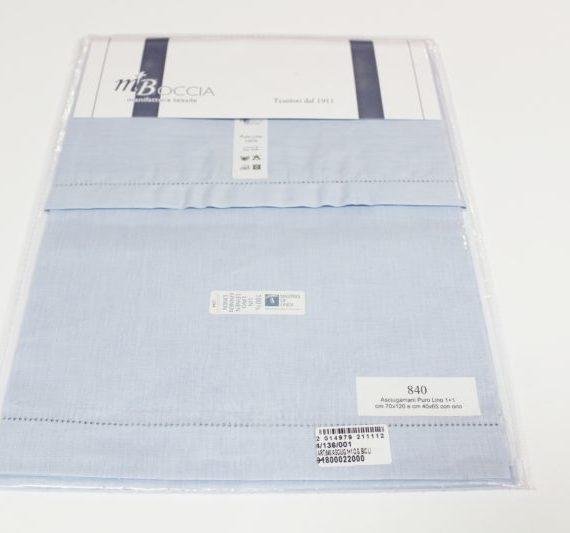 Set Asciugamano+Ospite 100% Lino, MTBoccia